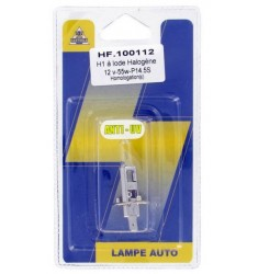 BLISTER LAMPE H1 12V 55W