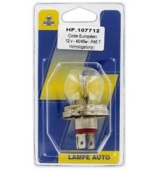 BLISTER LAMPE R2 CODE E 12V 45/40W