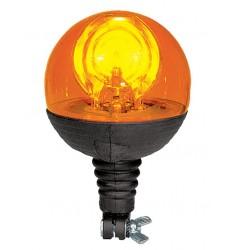 Gyrophare Boule SIRENA 12V ou 24V - Flexible