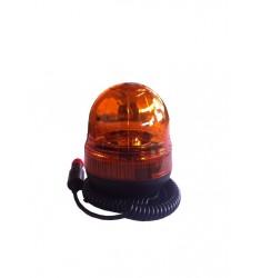 Gyrophare ECO 12/24V avec ampoules - Magnétique et ventouse