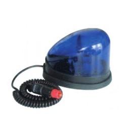 Gyrophare Goutte d'Eau Bleu Xénon 12-100V - Magnétique