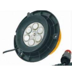 Gyrophare 12/24V LED Rotatif ULTRA PLAT- Magnétique