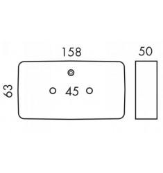 Feu 3 Fonctions rectangulaire