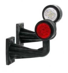Feux de gabarit déportés 8 LED coudé