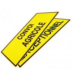 Panneaux CONVOI AGRICOLE/CONVOI EXCEPTIONNEL