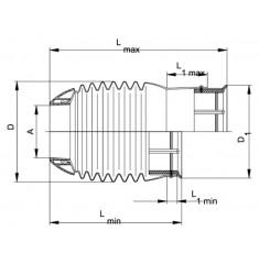 Cône Protecteur Intégrale avec rallonge