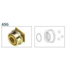 Verrou ASG à bague fermée en métal