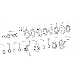 Limiteur friction et roue libre FK