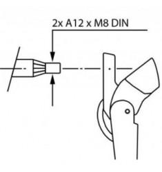 Bras d'essuie-glace pantographes ajustables type 18