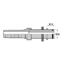 FKATLRLT : sortie type KARCHER tube lisse + roulement série CSE