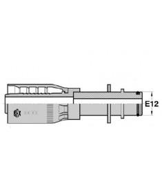 FKATL : sortie type KARCHER tube lisse + rondelle série 29