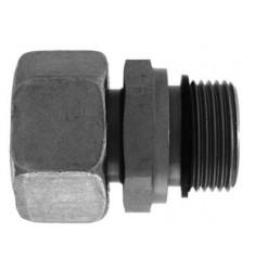 FPUS - MGCY : Adapteur Droit Femelle DIN LOURDE tournant x Mâle Gaz Cylindrique