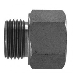 MGCY - FGCY : Adapteur Mâle Gaz Cylindrique x Femelle Mâle Gaz Cylindrique