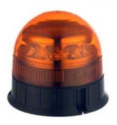 Gyrophare 12/24V LED Rotatif et Flash - Fixation par vis