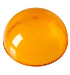 Globe Orange pour Gyrophare Ellipse