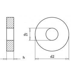 Rondelles de Calage DIN 988