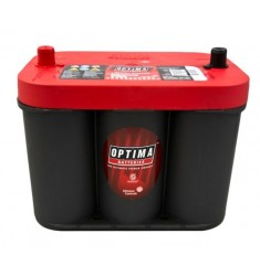 BATTERIE DEMARRAGE OPTIMA ROUGE 12V 50AH 815A