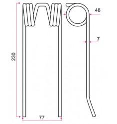 Dent Adaptable RIVIERE CASALIS RC121 18608684 Centrale