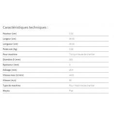 Disque pro MC acier/inox D350 pour Tronçonneuse MCS 350 A